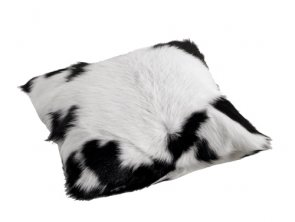 SKANDILOCK - CUSHION CALF40 BLACK, KALVSKINNSKUDDE 40X40 CM