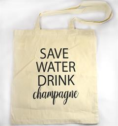 TYGKASSE SAVE WATER DRINK CHAMPAGNE - MELLOW DESIGN
