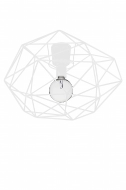 GLOBEN LIGHTING - PLAFOND DIAMOND VIT