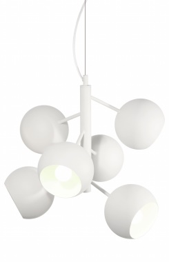 GLOBEN LIGHTING - PENDEL RONDO VIT